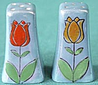 Vintage Tulip Luster Salt & Pepper Shakers (Image1)