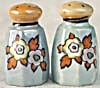 Vintage Flower Luster Salt & Pepper Shakers (Image1)
