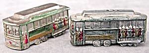 Vintage San Francisco Trolley Salt & Pepper Shakers (Image1)