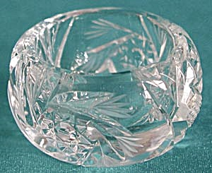 Vintage Cut Pineapple and X's Open Salt Cellar (Image1)