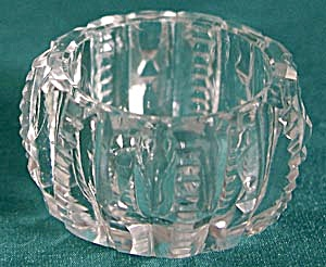 Vintage Zipper Cut Salt Cellars Set of 3 (Image1)