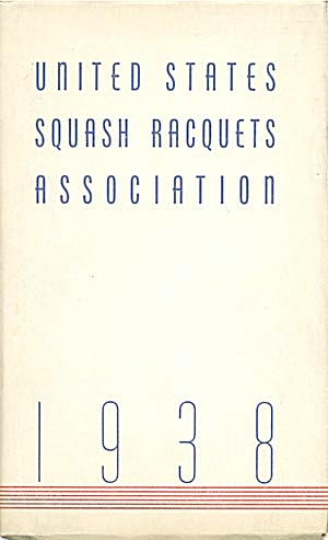 1938 United States Squash Racquets Association (Image1)