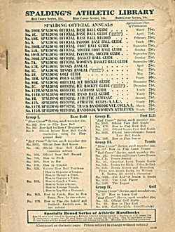 National Collegiate Athletic Track/Field Rules 1924 (Image1)