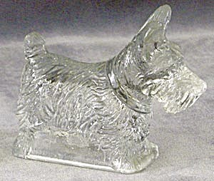 Vintage Scottie Candy Container (Image1)