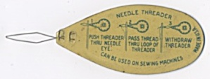 Vintage Metal Needle Threader