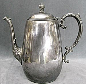 William Rogers Spring Flower Coffee Pot