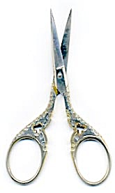 Vintage Lalto Solingen Embroidery Scissors (Image1)