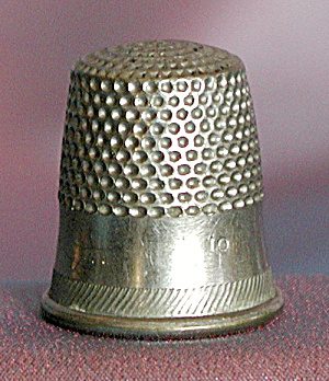 Vintage Steel Thimbles Group Of 5