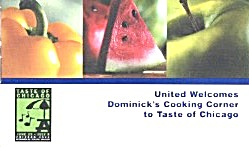 United Welcomes Dominick's Cooking Corner To Taste Of C