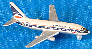 Schabak Delta air Lines Die-cast Airplane