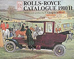 Rolls-Royce Catalogue 1910/11 (Image1)