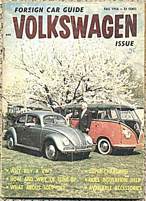 Foreign Car Guide Volkswagen Issue