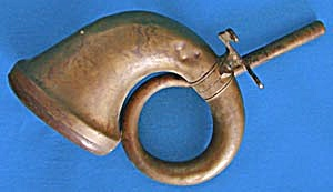 Antique Brass Car Horn (Image1)