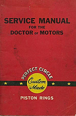 Vintage Service Manual For The Doctor Of Motors
