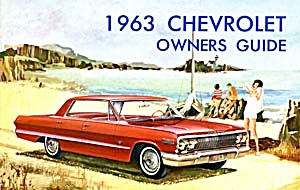 Vintage Chevrolet Owners Manual 1963