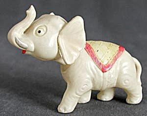 Vintage Celluloid Nodding Elephant (Image1)