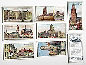 Gems of Belgian Architecture Cigarette Cards (Image1)