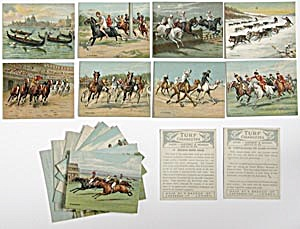 Races Historic & Modern Turf Cigarette Cards (Image1)