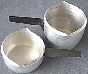 Vintage Aluminum Toy Pots Set of 2 (Image1)