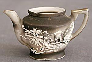 Vintage Dragonware Moriage Childs Teapot (Image1)