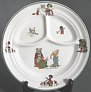 Vintage Golliwogs Baby Plate (Image1)
