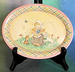 Vintage Metal Child's Tray