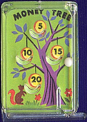 Cracker Jack Toy Prize: Money Tree Pinball (Image1)