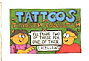 Cracker Jack Toy Prize: Tattoos (Image1)