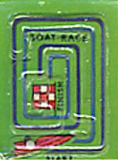 Cracker Jack Toy Prize: Boat Race Dexterity Game (Image1)