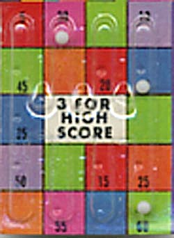 Cracker Jack Toy Prize: 3 For High Score Dexterity Game