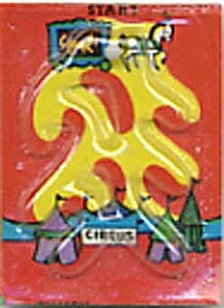 Cracker Jack Toy Prize: Circus Dexterity Game (Image1)