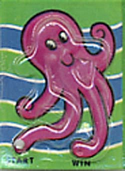 Cracker Jack Toy Prize: Octopus Dexterity Game (Image1)