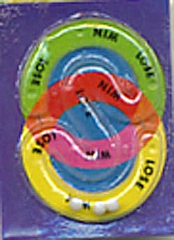 Cracker Jack Toy Prize: Magic Circles Dexterity Game