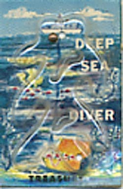 Cracker Jack Toy Prize: Deep Sea Diver Dexterity Game (Image1)