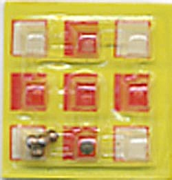 Cracker Jack Toy Prize: Maze Yellow Dexterity Game (Image1)