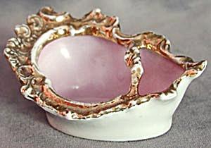 Vintage Pink Pipe Ash Tray (Image1)