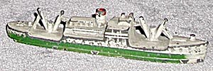Vintage Freighter Green & Silver (Image1)