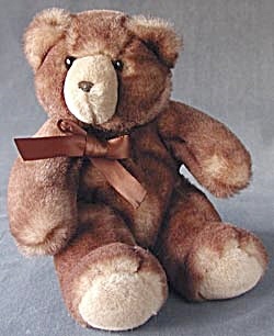 Cocoa Color Soft as Velvet Teddy Bear (Image1)