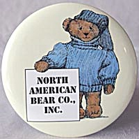 "North American Bear 6"" Button Pin & Easel"