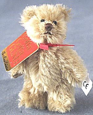 Gund Mohair Fully Jointed Mini Teddy Bear Theo
