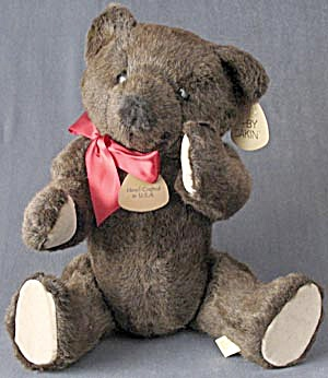 "Vintage 18"" Dakin Bentley Jointed Teddy Bear"