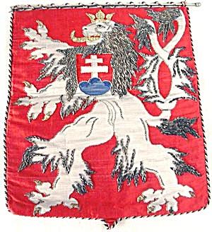 Vintage 1938 Lion Banner (Image1)
