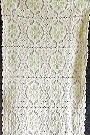 Vintage Green Flower Lace