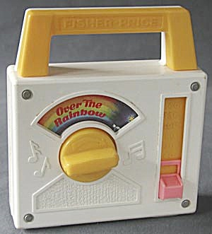 "Fisher Price ""Over the Rainbow"" Radio (Image1)"