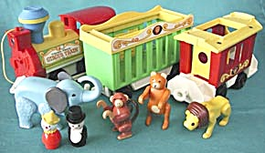 Vintage Fisher Price Circus Train (Image1)