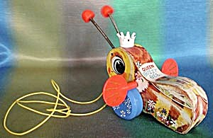 Vintage Fisher Price Queen Buzzy Bee (Image1)