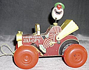 Vintage Fisher Price Jalopy (Image1)