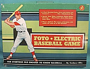 Vintage Foto-Electric Baseball Game (Image1)