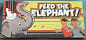 Vintage Feed The Elephant Game