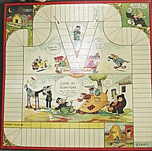 Vintage Barney Google & Spark Plug Game Board (Image1)